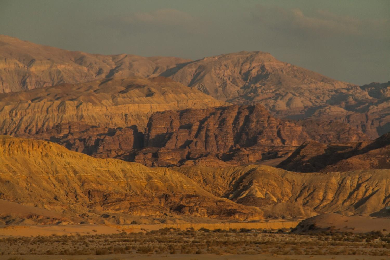 Aqaba Desert Landscape