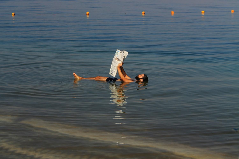 Dead Sea Jordan Floating