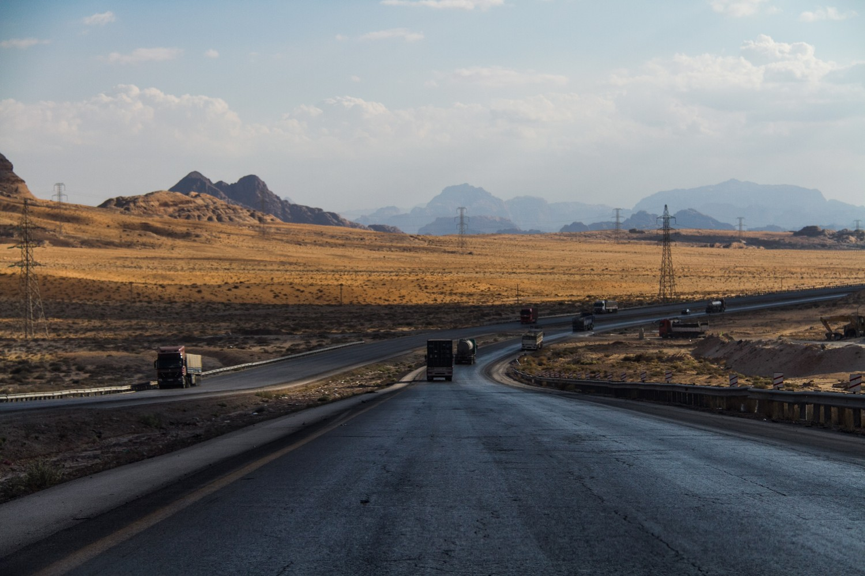 Desert Highway Jordan