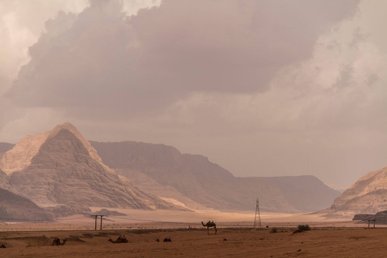 Wadi Rum Desert Landscape