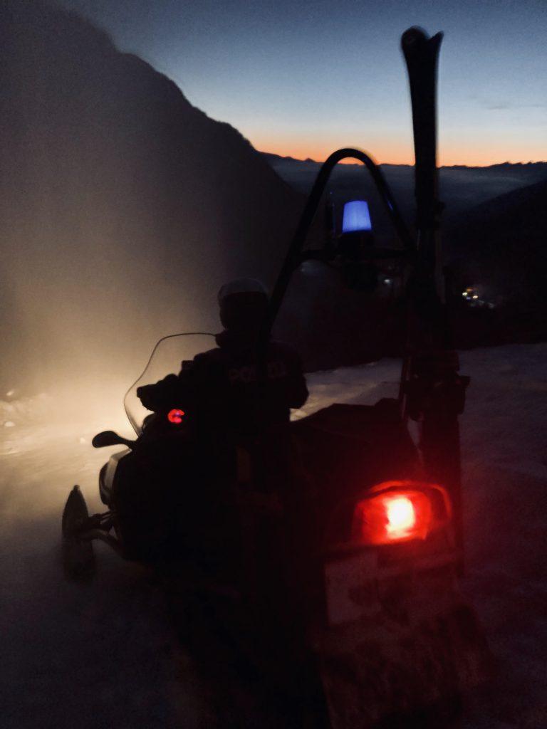 Obereggen Snowmobile