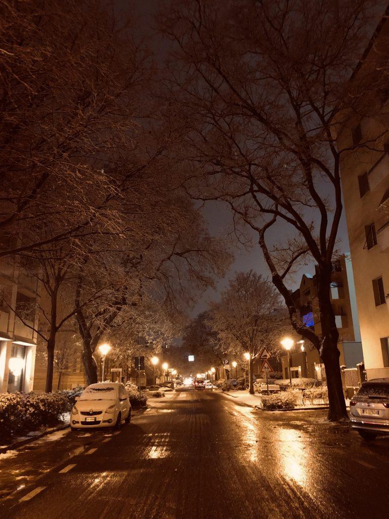 Trento Snowfall
