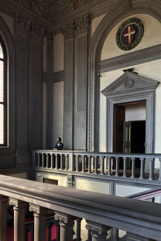 Galleria Paladina Palazzo Pitti Scala del Moro