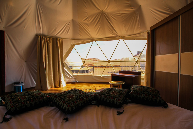 Wadi Rum Luxury Desert Camp-Jordan-Mazayen Rum Camp Internal Dome