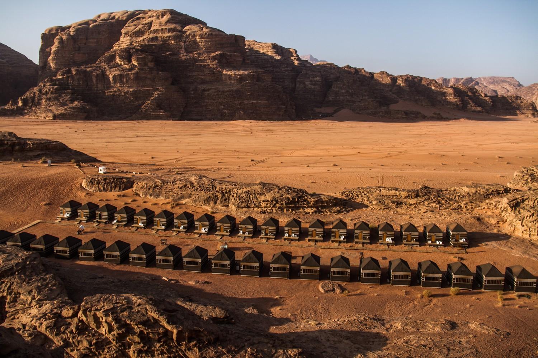 Wadi Rum Luxury Desert Camp in Jordan Mazayen Rum Camp Tents