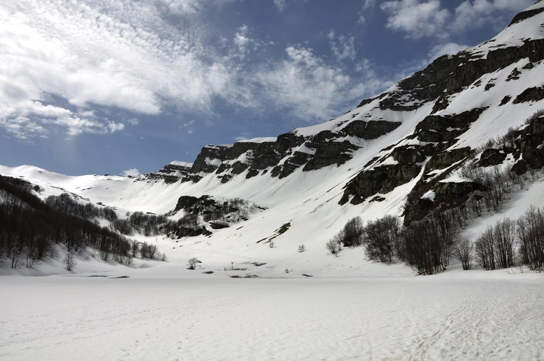 Lago Baccio Winter Hike