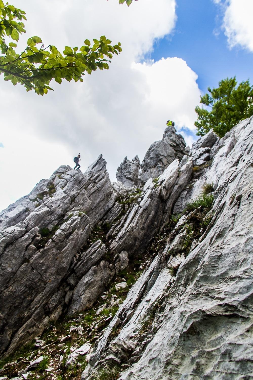 Schienale dell'Aasino Apuan Alps