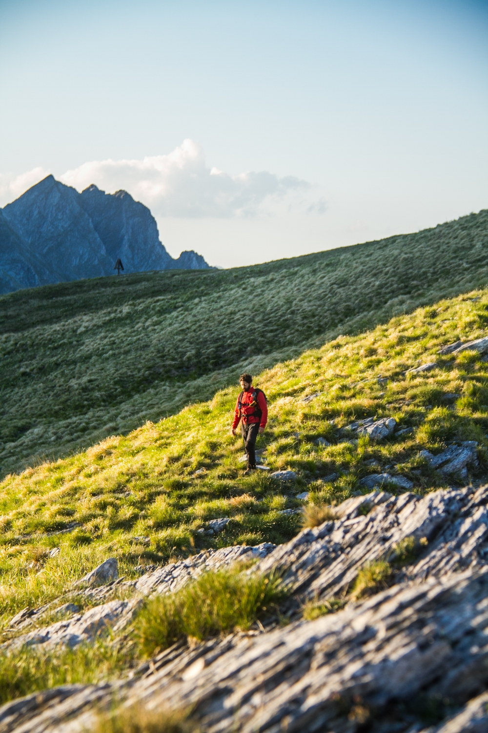 Apuan Alps Passo Sella Hike