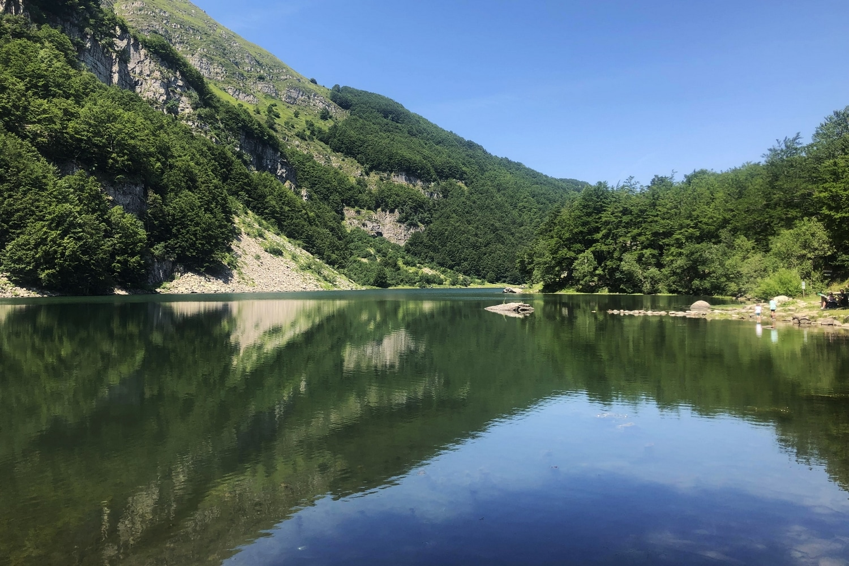 Lago Santo modenese Rifugio Vittoria