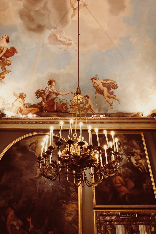 Galleria Paladina Palazzo Pitti Chandelier