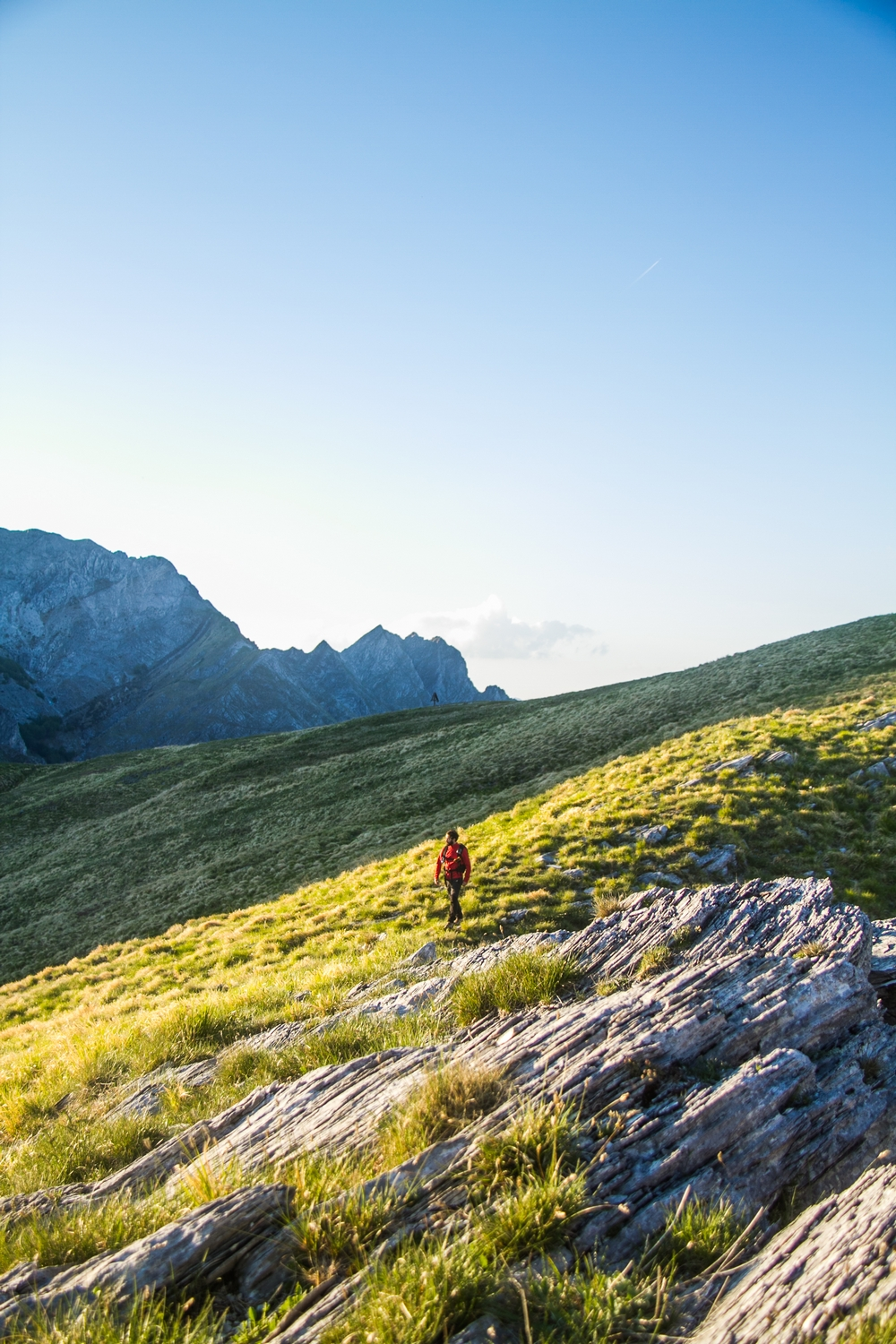 Apuan Alps Passo Sella Lucca Hike
